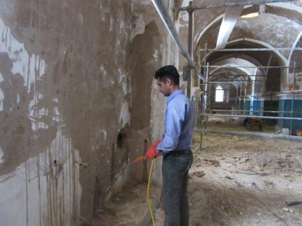 هجوم موریانه به مسجد جامع یزد