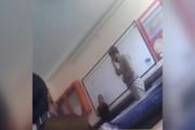 فیلم | تنبیه دانشآموز با شلاق توسط معلمی در ملارد!
