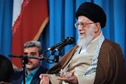 فیلم   واکنش جالب رهبر انقلاب به «الله الله» گفتن هنگام تلاوت قرآن