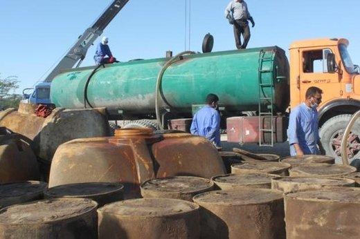 ۶۰۰.۰۰۰ لیتر سوخت قاچاق در اشتهارد دپو شد