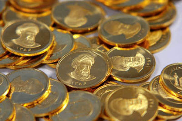 ریزش قیمت سکه در بازار