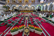 تصاویر | جزءخوانی قرآن کریم در حرم حضرت عباس علیهالسلام
