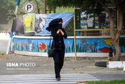 هوای امروز تهران، وزش باد نسبتا شدید