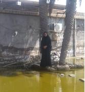 دختر کشتیگیری که خانهاش را آب برد ولی ارادهاش را نه!