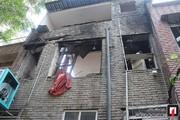 تصاویر   مرگ دلخراش بانوی ۴۵ ساله زیر آوار در تهران