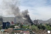 تصاویر | انفجار خودروی بمبگذاریشده در مرکز کابل