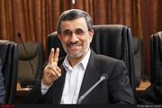 عکس | همنشینی همراه با خنده محمود احمدینژاد و سعید جلیلی