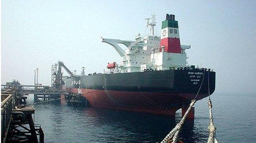 ایران چندبشکه نفت،در کشتی های روی آب دارد؟