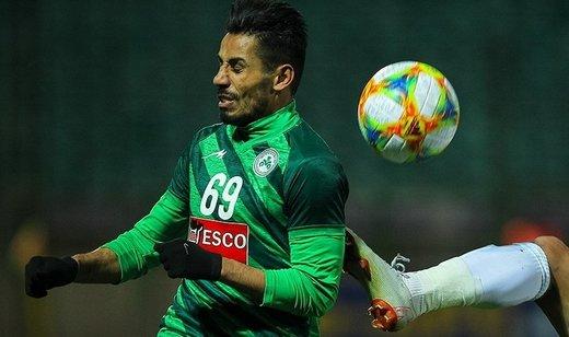 فخرالدینی مقابل الاتحاد بازی می کند