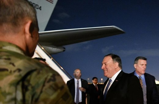 «بغداد» میان واشنگتن و تهران/ تنها یک هدف پمپئو را به عراق کشاند