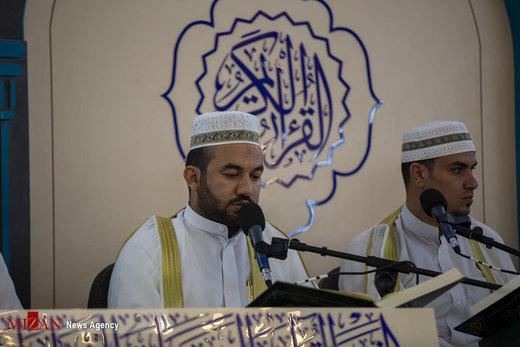 مراسم جزءخوانی قرآن کریم در حرم حضرت عباس علیهالسلام