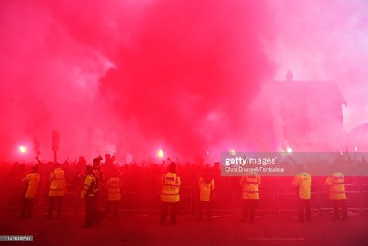 استقبال هواداران لیورپول از تیمشان