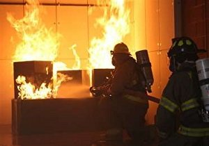 بازار تبریز در کام آتش رفت