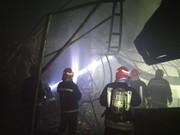 آتشسوزی بازار تبریز به طور کامل مهار شد
