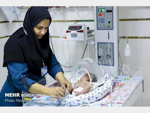 نوزاد ۴۵ روزه پس از انجام ۱۴ بار احیای قلبی نجات یافت