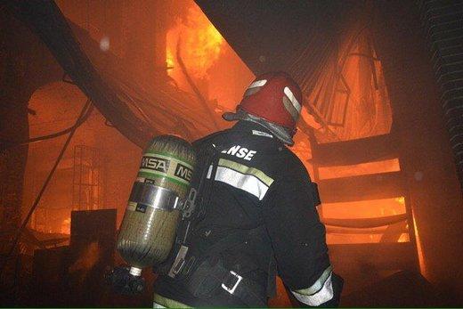 ۱۹ آتشنشان تبریزی مصدوم شدند