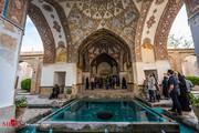 تصاویر | سیر و سفر به باغ و حمام تاریخی فین کاشان