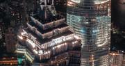 تصاویری از آسمان خراشهای غول آسا و دیدنی در شانگهای