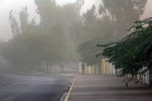 سرعت وزش باد در تهران چقدر است؟