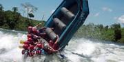 واژگونی قایق رفتینگ در رودخانه زاینده رود