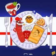 بفرمایید صبحانه انگلیسی!