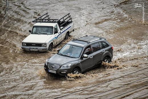 ۷ استان در معرض سیلاب ناگهانی
