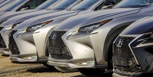 قیمت خودروهای وارداتی در بازار/ لکسوس انایکس ۱.۴ میلیارد تومان قیمت خورد