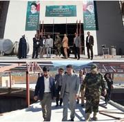 بازدید فرماندار خرمآباد از پروژه مرکز فرهنگی و موزه دفاع مقدس استان