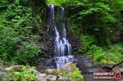 زمرد، آبشار زیبای دوقلوی گیلان