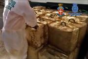 فیلم | کشف ۲۷۰۰ کیلو حشیش در اسپانیا