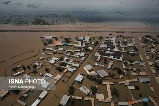 حدود ۶۰۰ دانشآموز حمیدیه به طور مستقیم درگیر مسئله سیلاب شدند