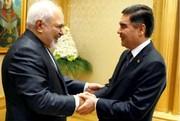 ظریف با محمداف دیدار کرد/ عکس