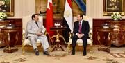 شاه بحرین به دیدار السیسی رفت