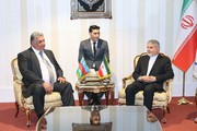 دیدار مسئولان کمیته ملی المپیک ایران با رییس فدراسیون جهانی دوومیدانی