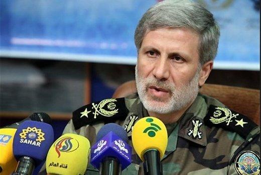 وزير الدفاع الايراني يعلق على استعداد اميركا للتفاوض مع ايران