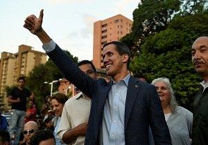 گوایدو رسما مداخله نظامی آمریکا در ونزوئلا را خواستار شد