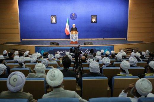 روحانی: ملت ایران بزرگتر از آن است که کسی بتواند آن را تهدید کند