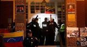 حمله پلیس آمریکا به سفارت ونزوئلا و و اکنش کاراکاس