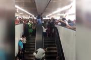 فیلم | حادثه دلخراش در مترو مکزیکوسیتی