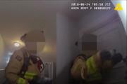 فیلم   درگیری مسلحانه از نمای دوربین لباس پلیس