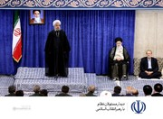 روحاني: قادرون علي العبور من المشاكل بالتضحية والوحدة