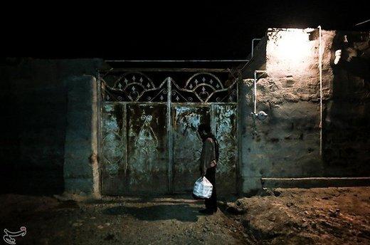 توزیع وعدههای افطار و سحر در منطقه سیلزده بامدژ
