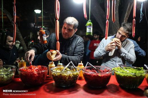 کوچه فلافلیها در شبهای رمضان