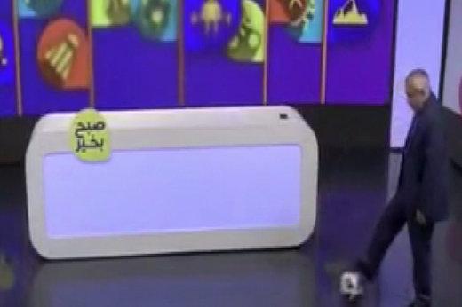 فیلم | پنالتیزدن علی فتح اللهزاده روی آنتن زنده!