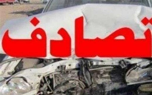 ۳ کشته و ۱ مصدوم در تصادف جاده پارسآباد