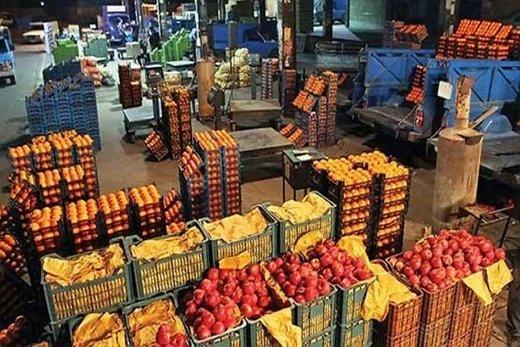 قیمت میوه و صیفی در عمده فروشی اعلام شد