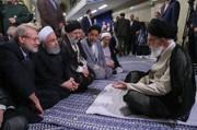 تصاویر | دیدار رهبرانقلاب با مسئولان نظام
