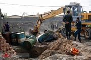 تصاویر | انهدام ۱۵ مرکز زیرزمینی انبار سوخت در زاهدان!
