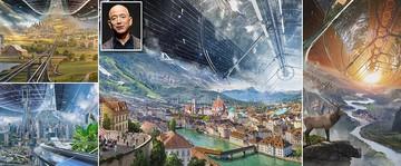 رونمایی ثروتمندترین مرد جهان از زیستگاه فضایی نزدیک کره زمین