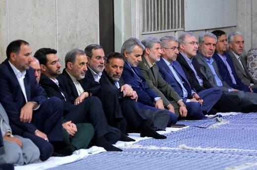 دیدار مسئولان نظام با رهبر معظم انقلاب اسلامی